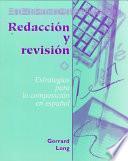 libro Redacción Y Revisión