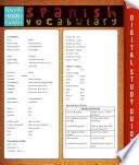 libro Spanish Vocabulary (speedy Study Guides)