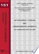 libro Autonomías Y Unidad Del Ordenamiento Jurídico. La Cuadratura Del Círculo