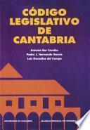 libro Código Legislativo De Cantabria