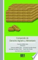 libro Compendio De Derecho Agrario Y Alimentario