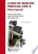 libro Curso De Derecho Procesal Civil Ii
