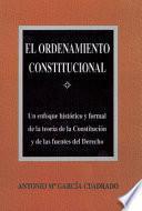 libro El Ordenamiento Constitucional