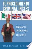 libro El Procedimiento Criminal Ingls