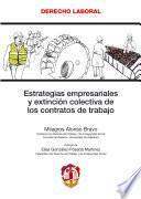 libro Estrategias Empresariales Y Extinción Colectiva De Los Contratos De Trabajo