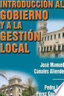 libro Introducción Al Gobierno Y A La Gestión Local
