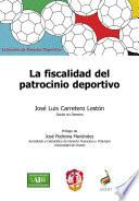 libro La Fiscalidad Del Patrocinio Deportivo