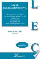 libro Ley De Enjuiciamiento Civil