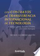 libro Los Contratos De Transferencia Internacional De Tecnología