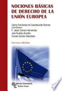 libro Nociones Básicas De Derecho De La Unión Europea