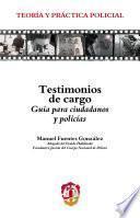 libro Testimonios De Cargo