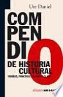 libro Compendio De Historia Cultural
