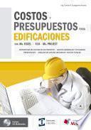 libro Costos Y Presupuestos Para Edificaciones