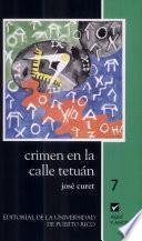 libro Crimen En La Calle Tetuán