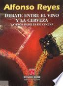 libro Debate Entre El Vino Y La Cerveza