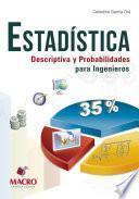 libro Estadística Descriptiva Y Probabilidades Para Ingenieros