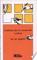 libro Estética De La Creación Verbal