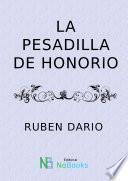 libro La Pesadilla De Honorio