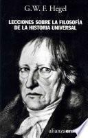 libro Lecciones Sobre La Filosofía De La Historia Universal