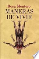 libro Maneras De Vivir