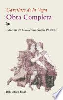 libro Obra Completa De Garcilaso De La Vega
