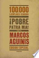libro ¡pobre Patria Mía!