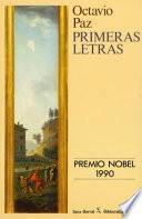 libro Primeras Letras, 1931 1943