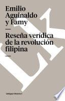 libro Reseña Verídica De La Revolución Filipina