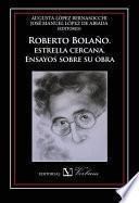 libro Roberto Bolaño, Estrella Cercana