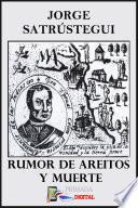 libro Rumor De Areito Y Muerte