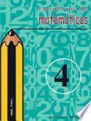 Cuaderno De Matemáticas No 4. Primaria