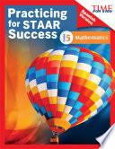 Time For Kids® Practicing For Staar Success: Mathematics: Grade 5 (spanish Version)