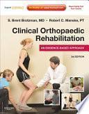 libro Clinical Orthopaedic Rehabilitation