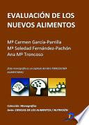 libro Evaluación De Los Nuevos Alimentos