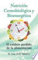 libro Nutrición Cronobiológica Y Bioenergética