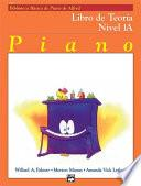 Alfred S Basic Piano Course: Spanish Edition Theory Book 1a