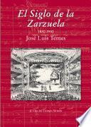 libro El Siglo De La Zarzuela