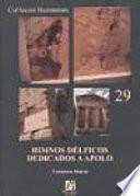 libro Himnos Délficos Dedicados A Apolo