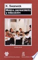 libro Música, Pensamiento Y Educación
