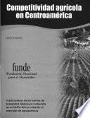 libro Competitividad Agrícola En Centroamérica
