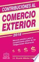libro Contribuciones Al Comercio Exterior 2018