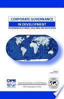 libro Corporate Governance In Development