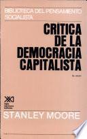 libro Crítica De La Democracia Capitalista