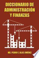 libro Diccionario De Administración Y Finanzas