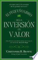 libro El Pequeño Libro De La Inversión En Valor