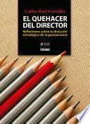 libro El Quehacer Del Director