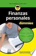 libro Finanzas Personales Para Dummies