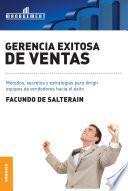 libro Gerencia Exitosa De Ventas