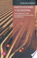 libro Instituciones Y Economía