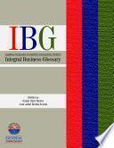 Integral Business Glossary
